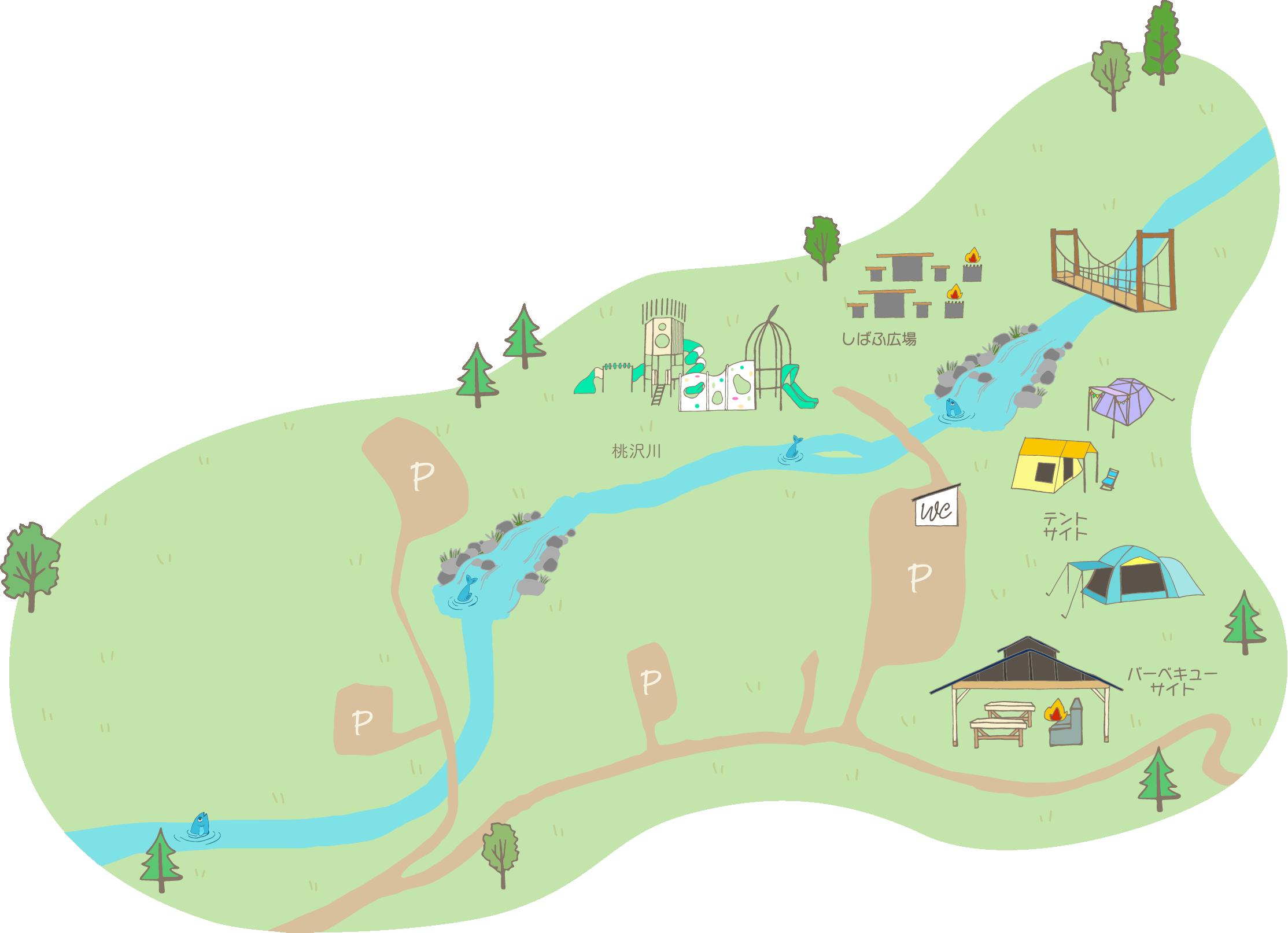 MOMOZAWA MAP